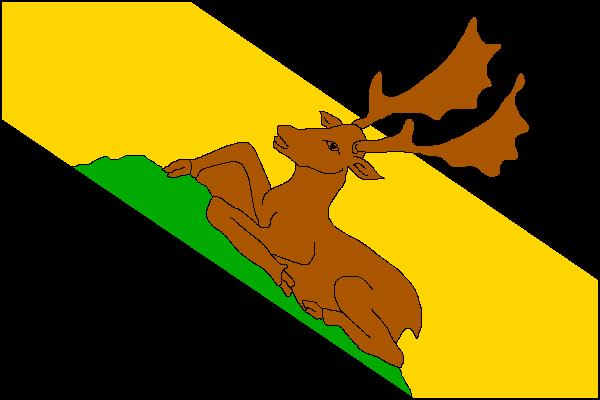 Mohelno - vlajka