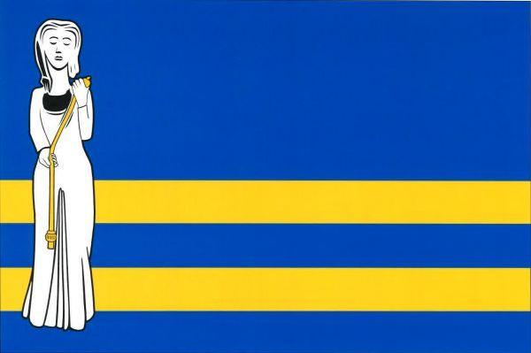 Mokošín - vlajka