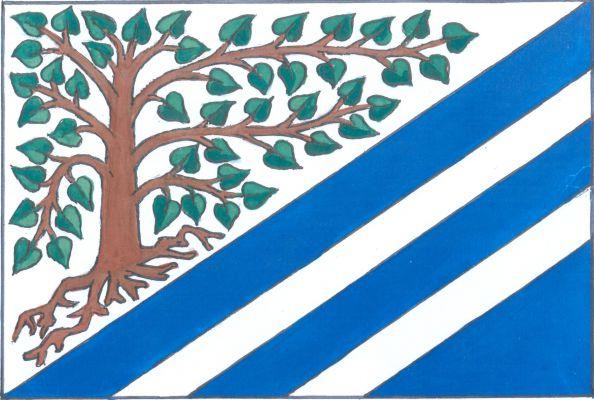 Mokré - vlajka