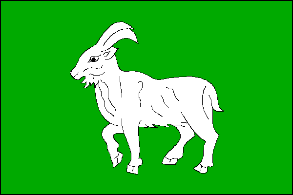 Morávka - vlajka