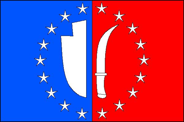 Moravské Knínice - vlajka