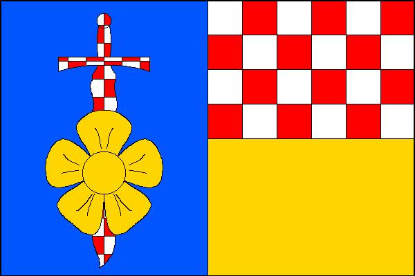 Moravskoslezský Kočov - vlajka