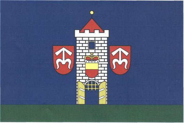 Moravský Krumlov - vlajka