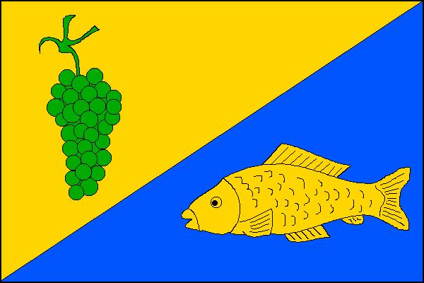 Moravský Písek - vlajka