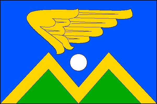 Mošnov - vlajka