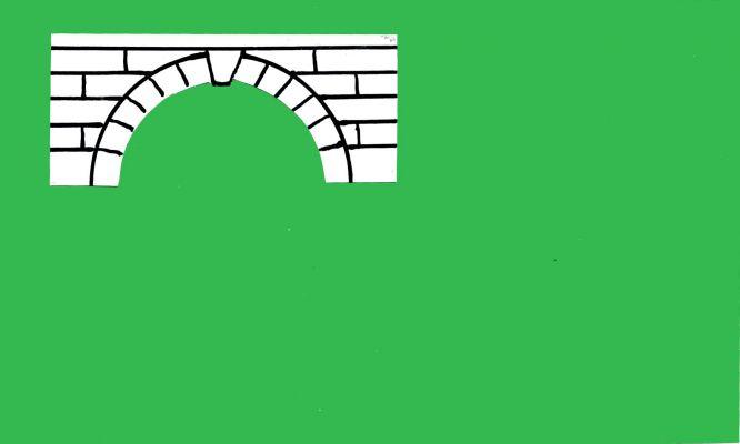 Mostek - vlajka