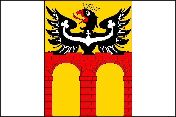 Mosty u Jablunkova - vlajka