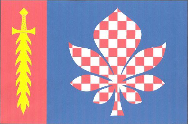Mratín - vlajka
