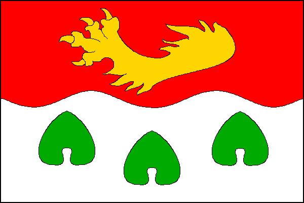 Mšené-lázně - vlajka