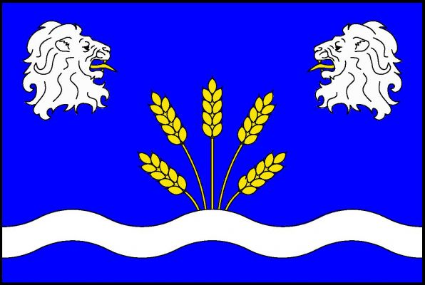 Nahořany - vlajka
