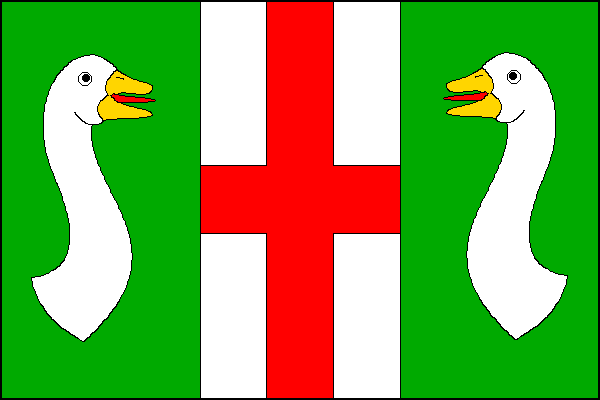 Náklo - vlajka
