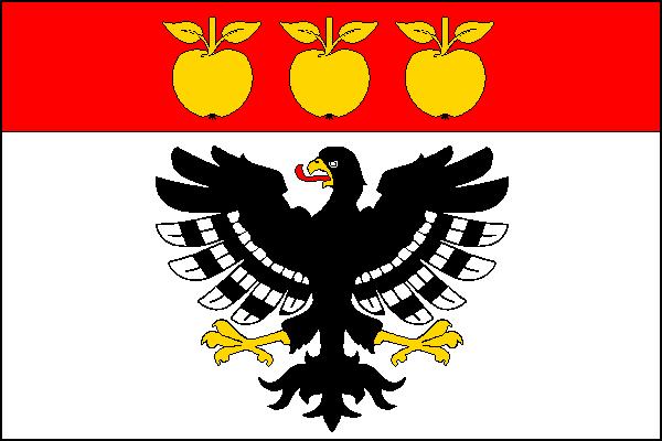 Nechvalice - vlajka