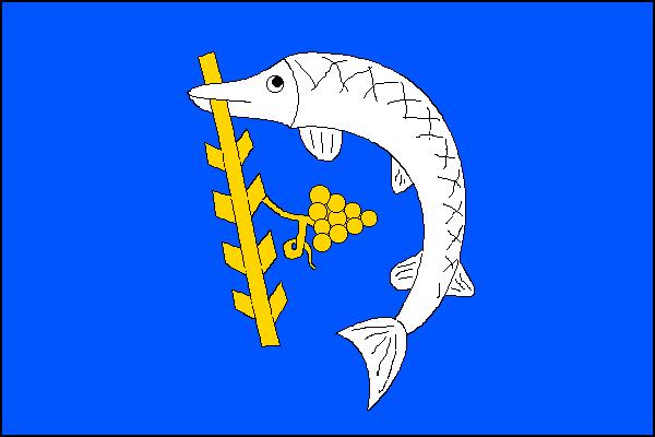 Nedachlebice - vlajka