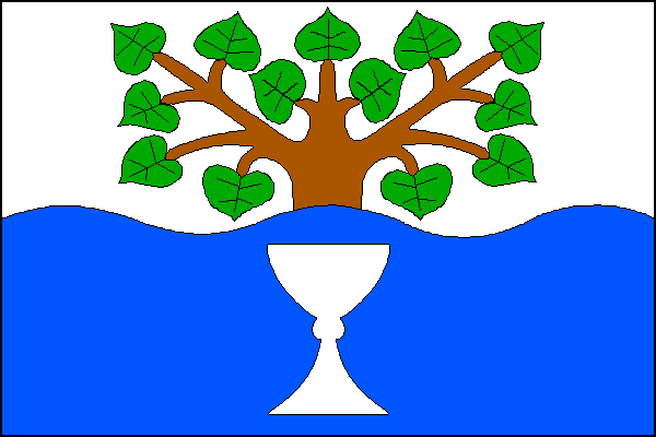 Nedakonice - vlajka