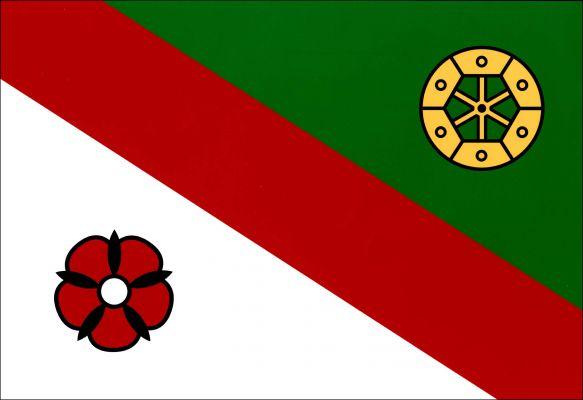 Nezdice - vlajka