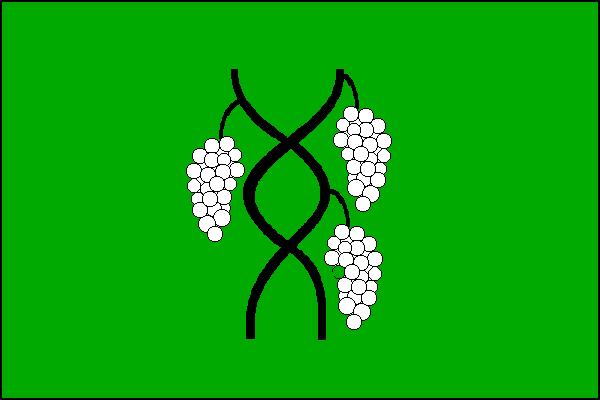 Nikolčice - vlajka