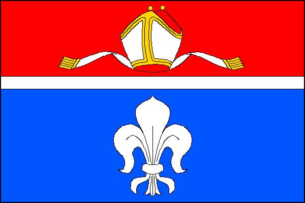 Nížkov - vlajka