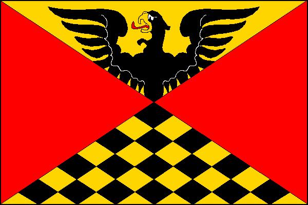 Nová Dědina - vlajka