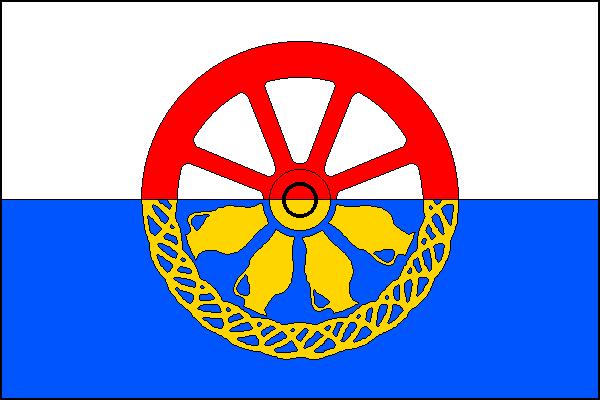 Nová Ves - vlajka