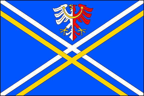 Nové Syrovice - vlajka