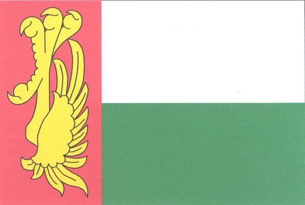 Obořiště - vlajka