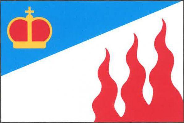 Ohnišťany - vlajka
