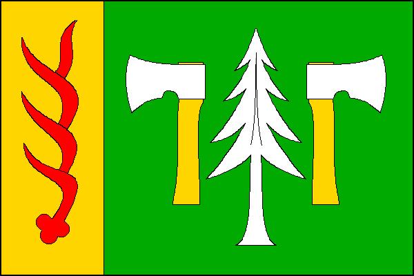 Oldřichov v Hájích - vlajka