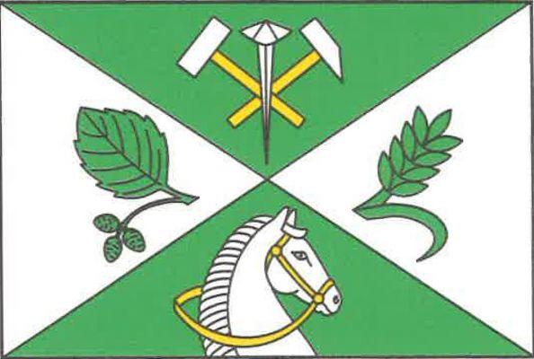 Olešná - vlajka