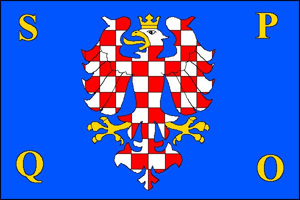 Olomouc - vlajka