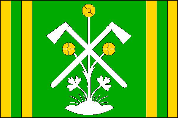 Olomučany - vlajka