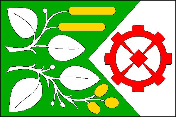 Olšany u Prostějova - vlajka