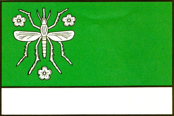 Komárov - vlajka
