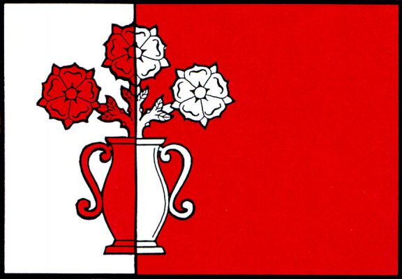 Malé Hoštice - vlajka
