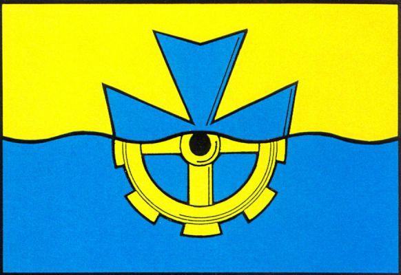 Vávrovice - vlajka