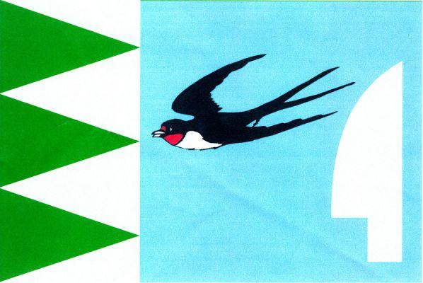 Vlaštovičky - vlajka