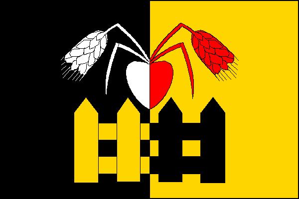 Oplocany - vlajka