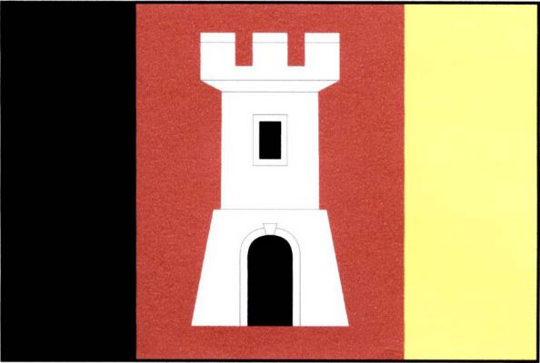 Orlík nad Vltavou - vlajka