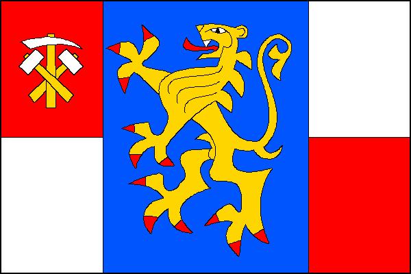 Oskava - vlajka