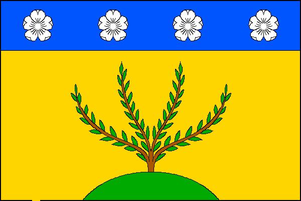 Oskořínek - vlajka