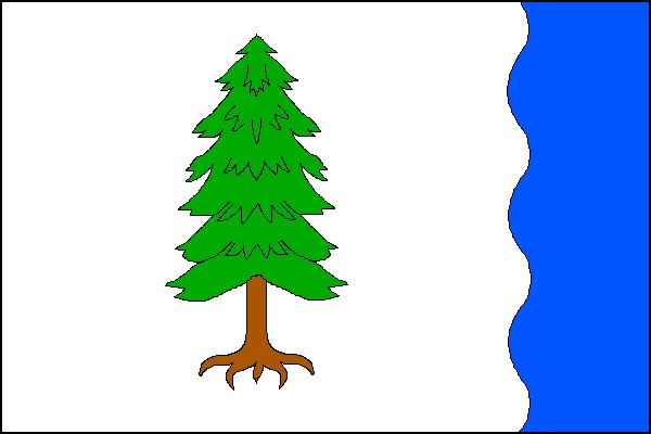Ostravice - vlajka