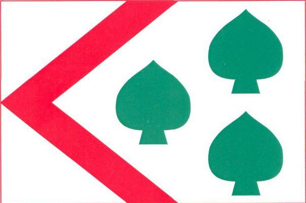 Ostřešany - vlajka