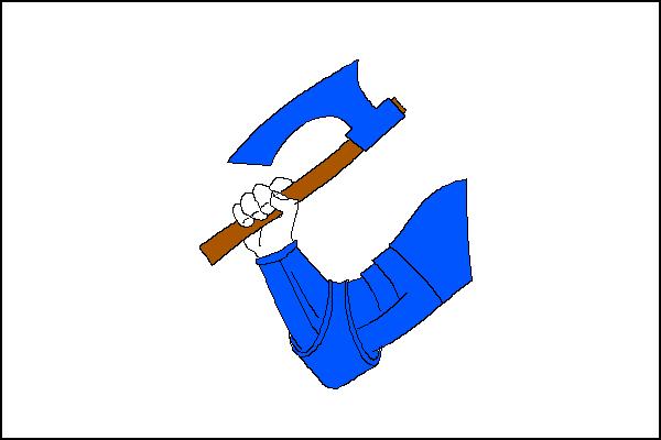 Ostroměř - vlajka