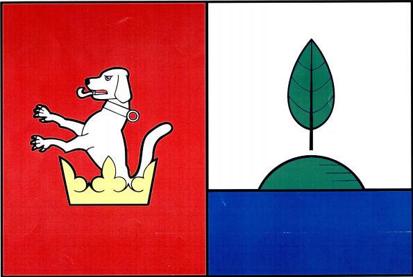Ostrov - vlajka
