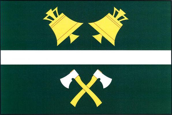 Ostrovec - vlajka