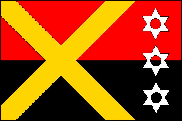Ostružná - vlajka