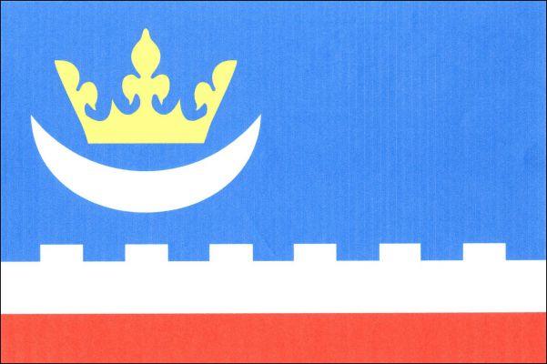 Pecka - vlajka