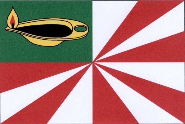 Petrov - vlajka