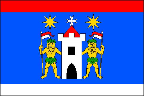 Pičín - vlajka