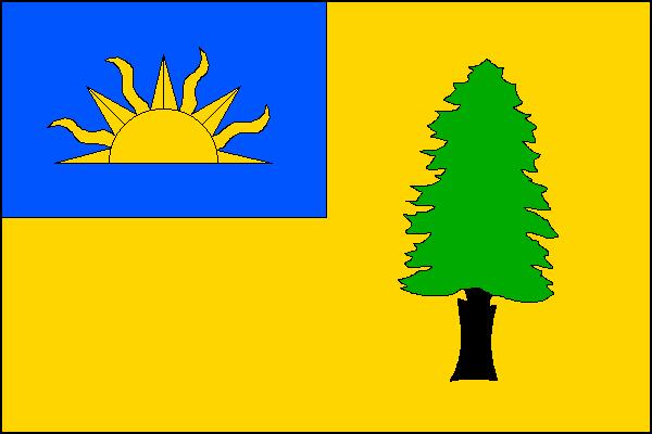 Písečná - vlajka
