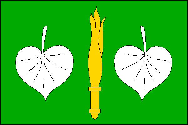 Písečné - vlajka